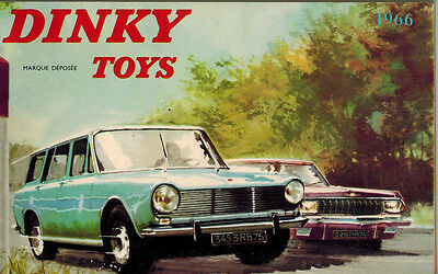 1966 Dinky Toys catalogue - French Edition - 102 Pages