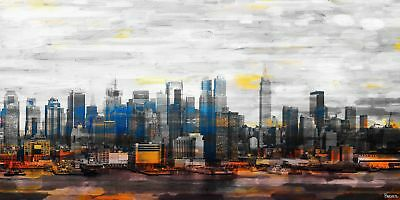 NEW New York Colors Canvas Wall Art