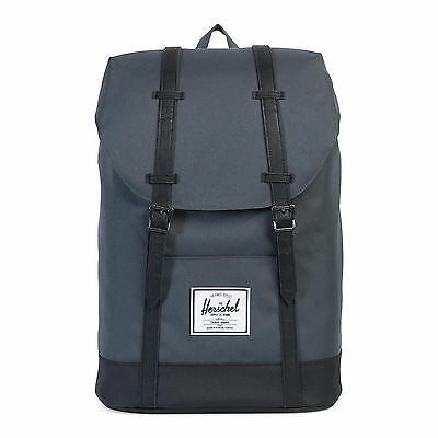 Herschel Zaini / Backpacks Retreat Classics Backpack Dark Shadow/Black Grigio