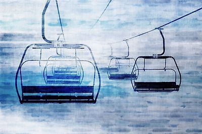 NEW Chair Lifts 1 Canvas Wall Art