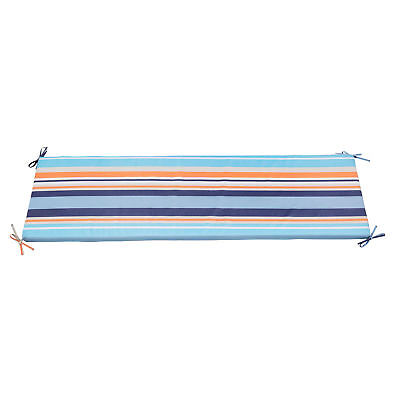 NEW Multistripe Coastal Bench Outdoor Cushion