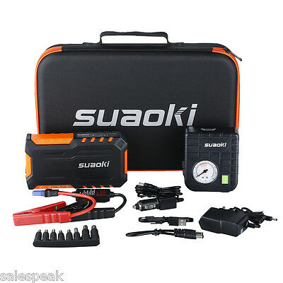 18000mAh Suaoki G7 PLUS Auto Jump Starter Pack Booster Chargeur Batterie LED FR