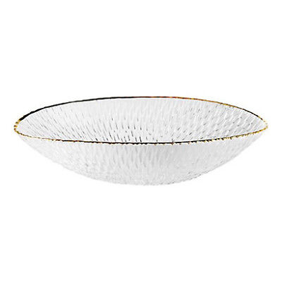 NEW Bon Bon Gold Oval Bowl