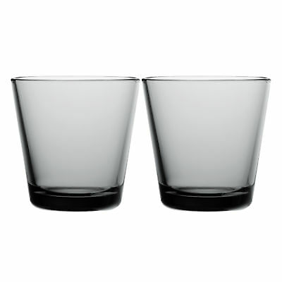 NEW Set of 2 Grey Iittala Kartio Tumblers