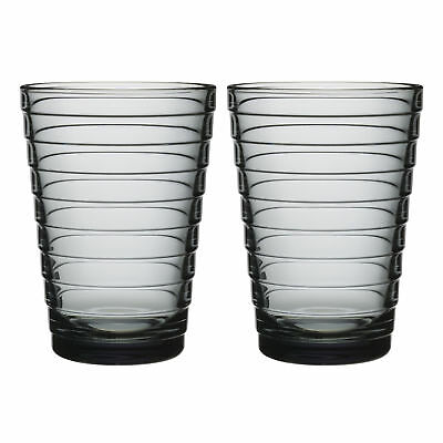 NEW Set of 2 Grey Iittala Aino Aalto Highballs