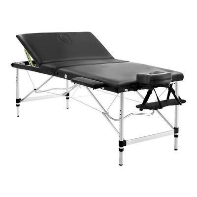 NEW Extra Wide Professional Aluminium Portable Massage Table