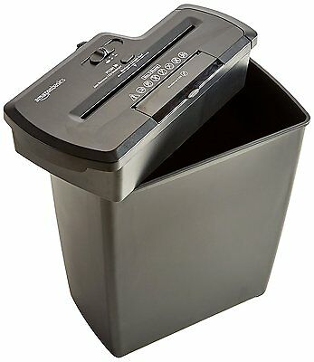 High Security 8-Sheet MicroCut Paper Credit Card CD Shredder Staples Home Office
