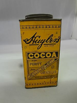 Vintage Huylers Cocoa Tin Advertising   Collectble  637-Y