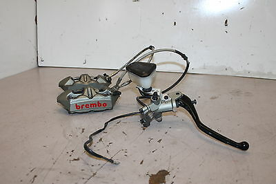 10 Ducati Streetfighter 1098s Front Brake Calipers & Master Cylinder BREMBO