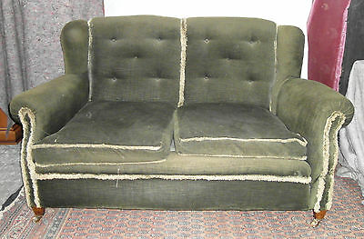 Edwardian Drop Arm Sofa