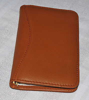 Fine Leather Pocket Agenda in Excellent Condition