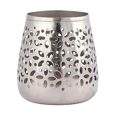NEW Luxe Silver Candle Holder