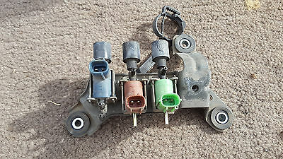Toyota 4runner pickup VSV SET vacuum switching valve red blue green gray grey