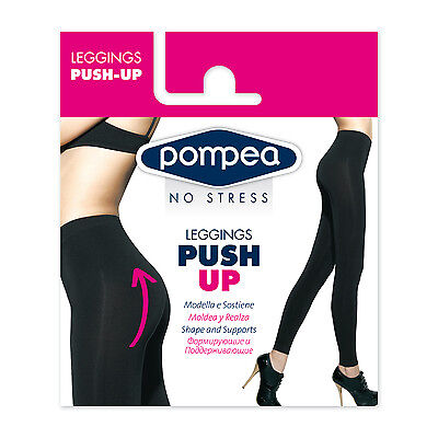 Pompea Leggins Push Up Nero Tg. M