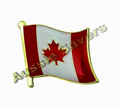 Canada / Canadian Flag Hat Pin / Badge - Brand New