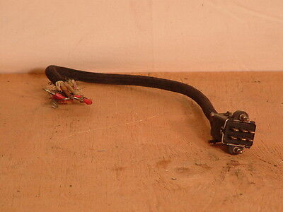 WW2 British Canadian Wireless Set 6 Point Jones plug and cable.