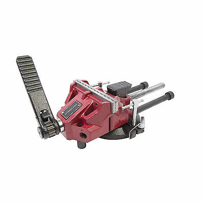 SPEED JAW 92747 5-Inch Low-Profile Bench Vise for Wood and Metal