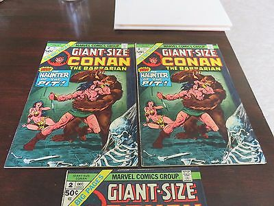Giant-Size Conan #2 (Dec 1974, Marvel) VF several available