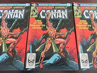 Conan King-Size Annual #6 NM 9.0 several availale