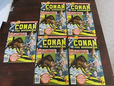 Conan King-Size Annual #4 NM 9.0 several availale