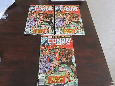 Conan King-Size Annual #2 VF+ 8.5-9.0 several available