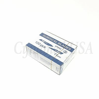 Lot Of1000 Sterile Scalpel Surgical Carbon Steel Blades #22 - Free Blade Remover