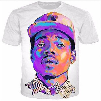 New Fashion Womens/Mens Chance The Rapper Funny 3D Print Casual T-Shirt HJT55