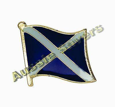 Scotland (Scottish) Flag Hat Pin / Badge - Brand New
