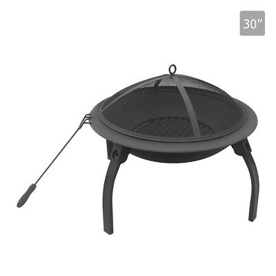 NEW 30 Inch Portable Fire Pit