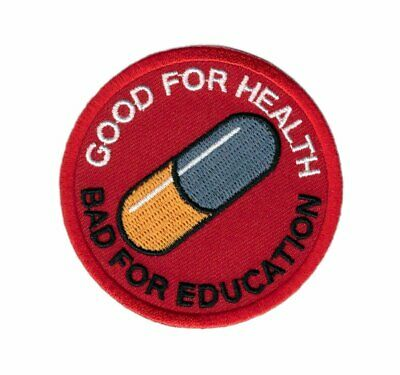 Akira Good for Health Bad Education Pill Japanese Parche Plancha / Patch Iron On