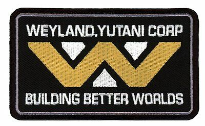 Building Better Worlds Weyland Yutani Alien Crew Cap Shirt Patch Parche Bordado