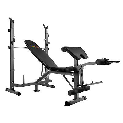NEW Multi-functional Fitness Bench Black