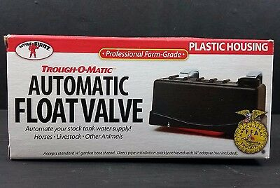 Little Giant Trough-O-Matic Automatic Float Valve TM 825 Professional Farm Grade