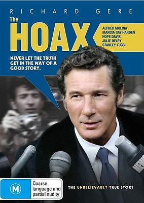 The Hoax (DVD 2010) Richard Gere Brand New, Genuine & Sealed  - Free Postage D41