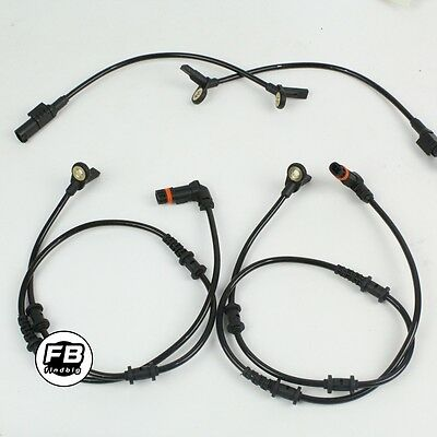 4pcs Front Rear ABS Wheel Speed Sensor for Mercedes Benz W164 GL ML320 ML350 NEW