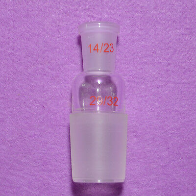 Glass Reducing Joint,Male 29/32 to Female 14/23,laboratory Glassware Adapter
