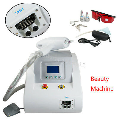Laser Tattoo Eyebrow Pigment Removal Beauty Machine 110/220V Good Working