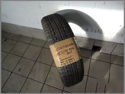 1x Continental 165 70 R14 81T Contact DOT3802 8,0mm Sommerreifen