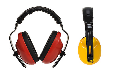Portwest PW48 Classic Plus Ear Protector High Visibility Defenders Muffs SNR 28