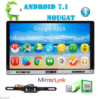 "2017 New Android 6.0 HD WiFi 7"" 2din GPS Car Head Unit Stereo Radio DVD Player"