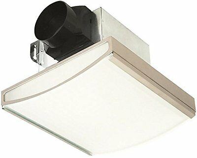 AIR KING AMERICA AKLC70SLN 70 CFM Decorative Quiet Exhaust Fan, Nickel