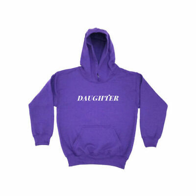 Daughter | KIDS HOODIE Girls Boys Childrens Clothing Mother Father Dad Mum
