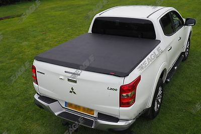 Mitsubishi L200 Eagle1 Soft Roll & Lock Premium Tonneau Cover Bed Cover