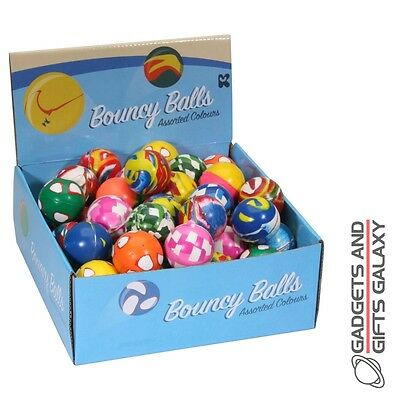 JETBALLS HIGH BOUNCY BALLS 5cm ass colours toy gift novelty childs kids favours