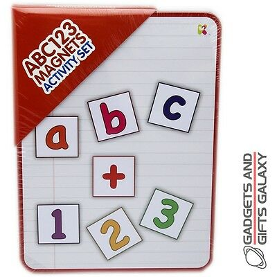 ABC 123 MAGNETS ACTIVITY SET BUMPER PACK education toy gift childs kids school