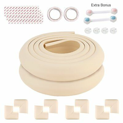 Comcome Extra Thick Childproof Safety Edge & Corner Guard, Furniture Sharp Edge