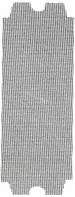 ALI INDUSTRIES 4008 100 25 CT Grit Drywall Sand Screen, 2-Pack