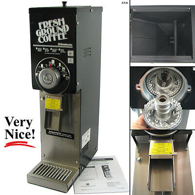 Grindmaster 875 Commercial Automatic 3 Pound Bulk Coffee Grinder 1/2 HP 115V