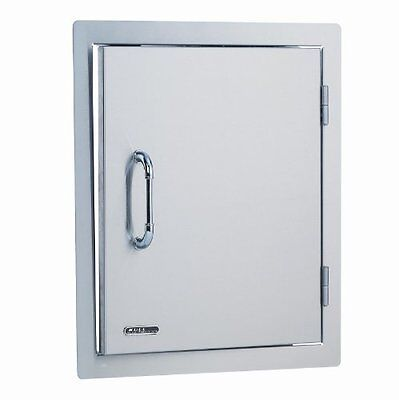 Bull Outdoor Products 89975 Stainless Steel Single Vertical Door