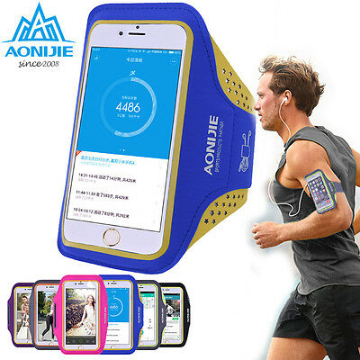 Cycling Running Jogging Gym Wrist Arm Bag Pouch Armband Cell Phone Keys Holder